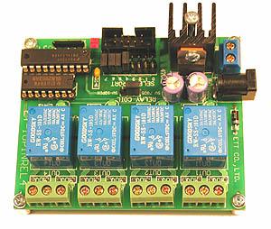 Carte 4 relais